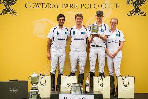 The Harrison Cup winners / Picture by Mark Beaumont