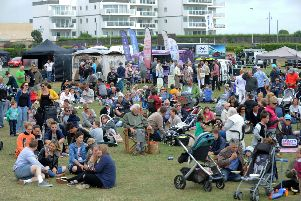 Eastbourne Feastival Day in Princes Park 25/6/17 (Photo by Jon Rigby) SUS-170626-114820008