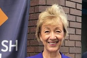 Coun Rob Waltham, the Leader of North Lincolnshire Council, meeting with the Secretary of State for Business, Energy and Industrial Strategy, Andrea Leadsom. EMN-190729-211313001