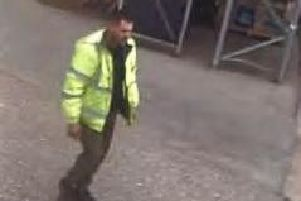 The man in the image or anyone who recognises him should call Northamptonshire Police on 101