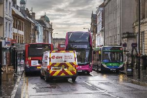 The Drapery, in Northampton town centre, will now have its bus lane enforced
