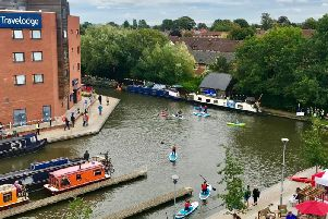 The Aylesbury canal basin