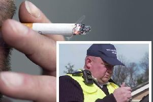 Northampton's private litter enforcers are the most successful in the country according to statistics.