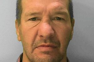 Michael Jones has been jailed for antisocial behaviour in Eastbourne town centre