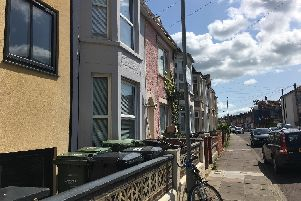 Montgomerie Road in Southsea which has almost 50 per cent HMOs. Picture: Fiona Callingham