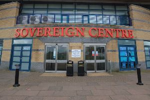 Sovereign Centre,  Eastbourne (Photo by Jon Rigby) SUS-161123-082414008