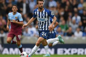 Brighton & Hove Albion midfielder Davy Propper. Picture courtesy of Getty Images