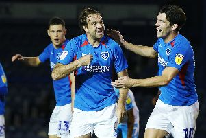 Pitman scored his 39th Pompey goal in last week's Leason.com Trophy victory over Crawley. Picture: Joe Pepler/Digital South