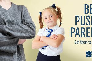 'Be a pushy parent' East Sussex County Council new campaign to improve school attendance