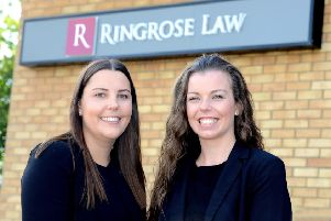 New recruits Charley Cook (left) and Nicola McCourt.