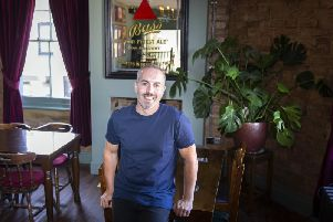 Paul Hanna is celebrating 10 years in business at The Lamplighter in Overstone Road.