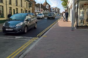 Police responded to reports of anti-social behaviour in Hailsham town centre on Thursday (September 19)