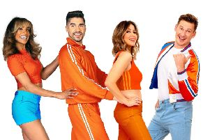 From left: Melody Thornton, Louis Smith, Rachel Stevens and Lee Ryan