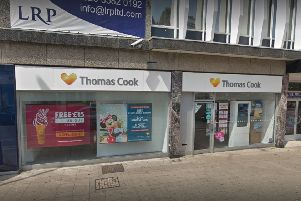 Thomas Cook in Worthing. Picture: Google Street View