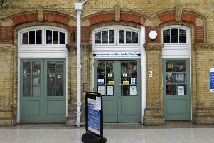 Eastbourne Railway Station Health Centre (Photo by Jon Rigby) SUS-180504-102959008