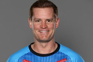 Sussex captain Ben Brown. Picture courtesy of Getty Images