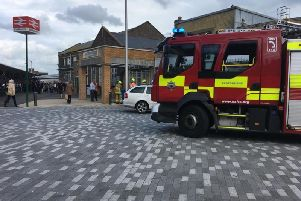 Eastbourne station has been evacuated
