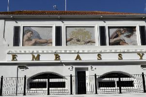 The Embassy nightclub in Pevensey Road, Eastbourne (Photo by Jon Rigby) SUS-190310-100051008