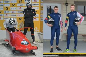 Sgt Adam Baird, 29 from Havant, and Colour Sergeant Ash Morris, 38, have been selected for Great Britain's two-man bobsleigh squad competing in the Europa Cup next month