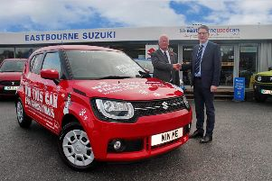 Win A Car Eastbourne celebrates its 20th birthday