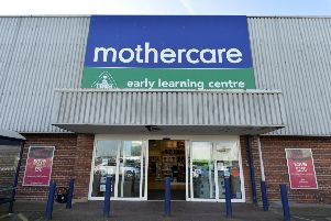 Mothercare in Hampden Park retail park (Photo by Jon Rigby)