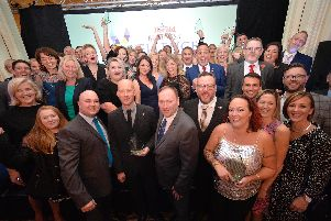Eastbourne Business Awards 2019. Photos by Mark Dimmock