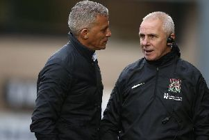 Keith Curle and David Kelly
