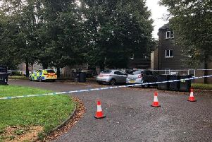 Booth Meadow Court following the incident
