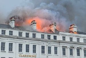 Claremont Hotel fire, Eastbourne