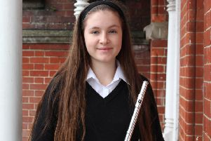 Lower Sixth Bede's pupil and seasoned flautist Daisy Noton