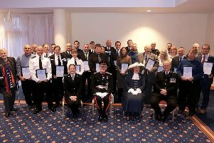 Sussex Police's East Sussex Divisional Awards at the East Sussex National Golf and Spa Resort. Pictured is action from the event.''Tuesday 26th November 2019 � Sam Stephenson SUS-191129-162918001