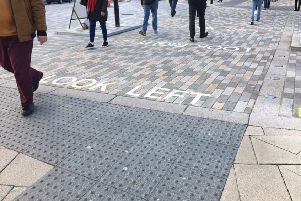 Eastbourne Access Group has raised concerns for this crossing outside the station