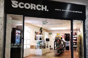 Scorch Comics has opened its doors in The Beacon in Eastbourne