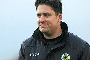 Horsham manager Dominic Di Paola. Picture by Derek Martin