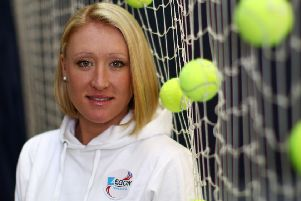 The new documentary tells the story of Scottish world-leading tennis player Elena Baltacha's career and life.