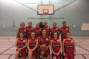 The Crawley Lightning team for the 2018/19 season. Picture courtesy of Alissa Walker.