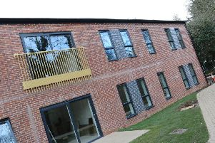 Park Gardens which over looks Banbury's People's Park is reaching the end of phase one NNL-180202-143438001