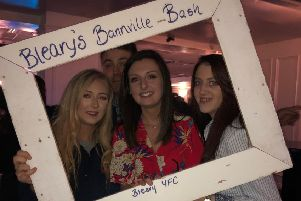Zara, Laura and Alison enjoying the Bannville Bash