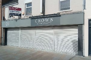 The former jewellery shop earmarked for a restaurant
