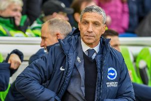 Chris Hughton. Picture: Phil Westerlake