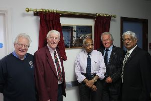 Dr Dhabuwala and supporters from Luton North Rotary Club.