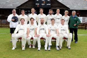West Wittering's first XI line-up / Picture by Kate Shemilt