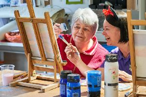 Getting creative during Care Home Open Day