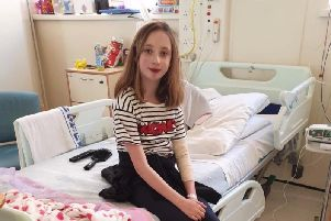 Spire Integrated pupil Aimee Brady has been in hospital for six months.