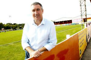 Banbury United manager Mike Ford knows it will be a tough test at Brackley Town