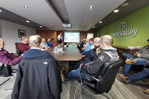 The Lagan Group kicked off the 2019 winter Programme in October with a trip to Fane Valley headquarters in Moira. Chief Executive of Fane Valley, Trevor Lockhart, gave a in depth presentation of the company