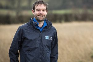 RSPB NI's policy officer Phil Carson