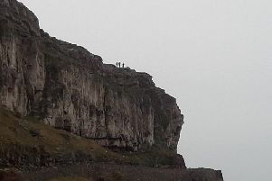 RSPCA officers have completed the dramatic rescue of a sheep from a Llandudno cliff ledge - amid fears the sheep had become trapped after running away from a dog