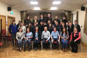 On Friday, January 17, Bleary Young Farmers' Club were delighted to welcome William Sayers along to the club to present an interesting and enlightening talk on farm safety and his experience