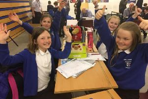 Uryside School pupils take part in the engagement programme